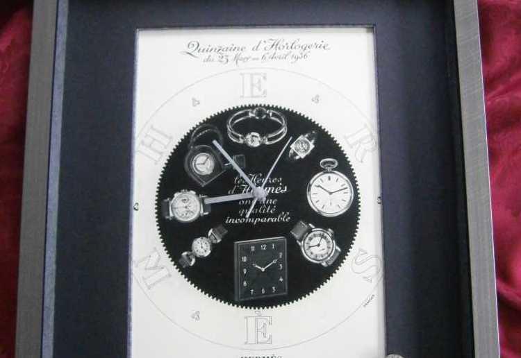 """Horloge """"Hermès en toute simplicité"""" 85,00€+fdp"""